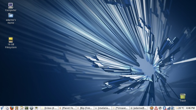 My 31337 desktop